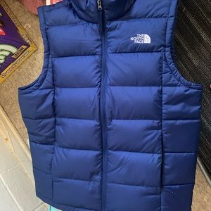 Blue NorthFace BubbleVest